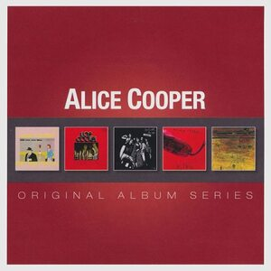 "ALICE COOPER ""Original Album Series"" /Slipcase 5 CD Set/"