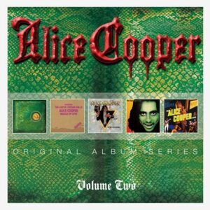 "ALICE COOPER ""Original Album Series Vol. 2"" /Slipcase 5 CD Set/"