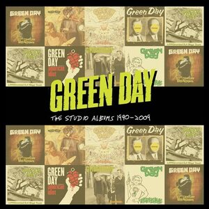 "GREEN DAY ""The Studio Albums 1990-2009"" /Ltd. 8CD Box Set/"