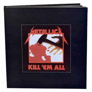 "METALLICA ""Kill 'Em All – Deluxe Edition"" + ""Jump In The Fire"" /Ltd. Deluxe 3LP + Picture 12"" EP + 5CD + DVD + Book + Patch + Download Cards Box Set/"