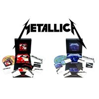 """METALLICA """"Kill 'Em All – Deluxe Edition"""" + """"Jump In The Fire"""" /Ltd. Deluxe 3LP + Picture 12"""" EP + 5CD + DVD + Book + Patch + Download Cards Box Set/"""