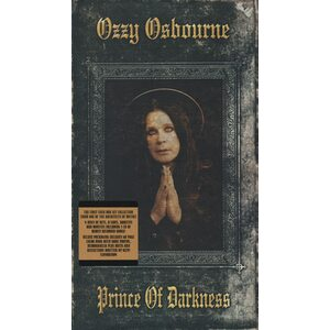 "OZZY OSBOURNE ""Prince Of Darkness"" /Deluxe 4CD Digipack Box Set/"