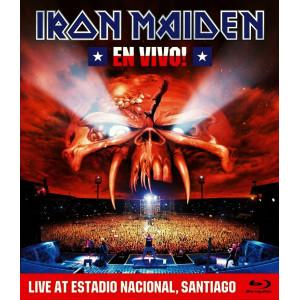 """IRON MAIDEN """"En Vivo!"""" /BRD; Live/"""