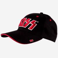 """KISS """"Red on White 3D Logo"""" /Cap/"""