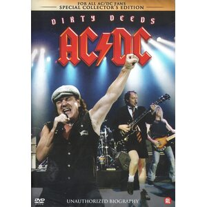 "AC/DC ""Dirty Deeds - Unauthorized Biography"" /DVD/"