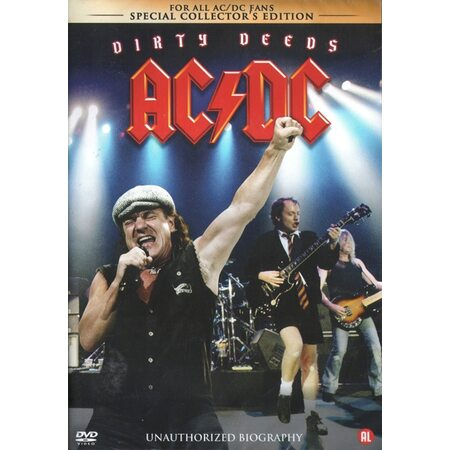 """AC/DC """"Dirty Deeds - Unauthorized Biography"""" /DVD/"""