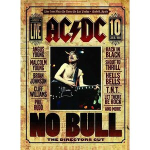 "AC/DC ""No Bull – The Director's Cut"" /Digipack DVD; Live/"