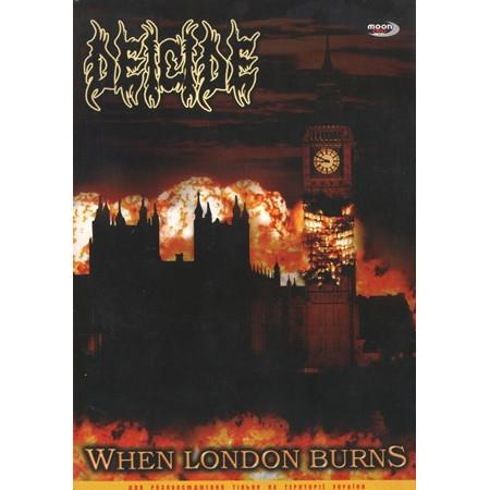 "DEICIDE ""When London Burns"" /Slipcase DVD; Live/"