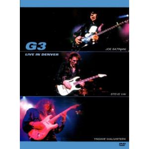 "G3 (Joe Satriani / Steve Vai / Yngwie Malmsteen) ""Live In Denver"" /DVD; Live/"