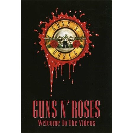 """GUNS N' ROSES """"Welcome To The Videos"""" /DVD/"""