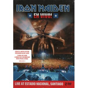 "IRON MAIDEN ""En Vivo!"" /Ltd. Edition Steelbook 2DVD/"