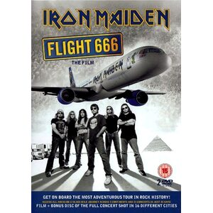 "IRON MAIDEN ""Flight 666 - The Film"" /2DVD/"