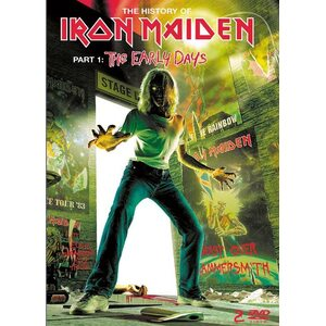 "IRON MAIDEN ""The History Of Iron Maiden, Part 1: The Early Days"" /2DVD/"