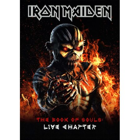 """IRON MAIDEN """"The Book Of Souls: Live Chapter"""" /Ltd. Deluxe A5 Slipcase 2CD Digibook; Live/"""