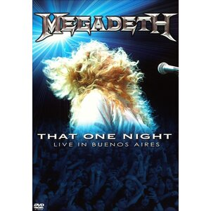 "MEGADETH ""That One Night – Live In Buenos Aires"" /Slipcase Digipack DVD/"