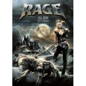 """RAGE """"Full Moon In St. Petersburg"""" /Slipcase DVD/"""