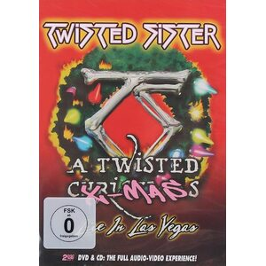"TWISTED SISTER ""A Twisted X-Mas: Live In Las Vegas"" /DVD + CD Set; Live/"