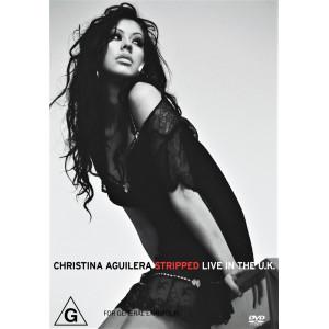 """CHRISTINA AGUILERA """"Stripped Live In U.K."""" /DVD; Live/"""