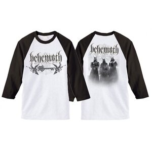 "BEHEMOTH ""Logo / Band"" /3/4 Sleeve Raglan/"