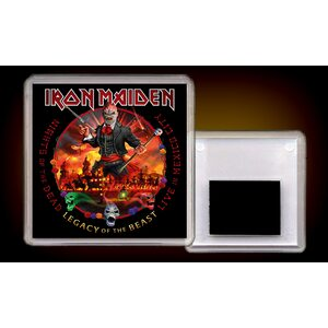 "IRON MAIDEN ""Nights Of The Dead, Legacy Of The Beast: Live In Mexico City"" /Acryl Magnet/"