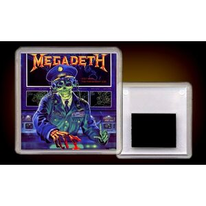 "MEGADETH ""Holy Wars...The Punishment Due"" /Acryl Magnet/"