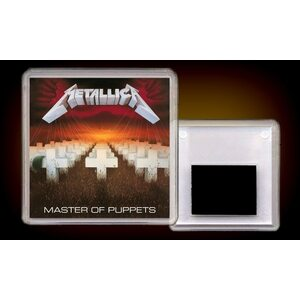 "METALLICA ""Master Of Puppets"" /Acryl Magnet/"