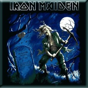 "IRON MAIDEN ""Benjamin Breeg"" /Fridge Magnet/"