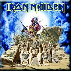 "IRON MAIDEN ""Somewhere Back In Time"" /Fridge Magnet/"
