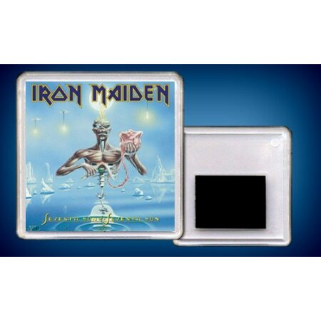 """IRON MAIDEN """"Seventh Son Of A Seventh Son"""" /Acryl Magnet/"""