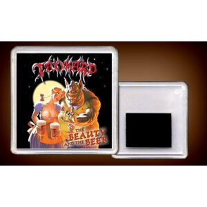 "TANKARD ""The Beauty And The Beer"" /Acryl Magnet/"