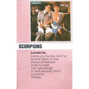 "SCORPIONS ""Lovedrive"" /MC/"
