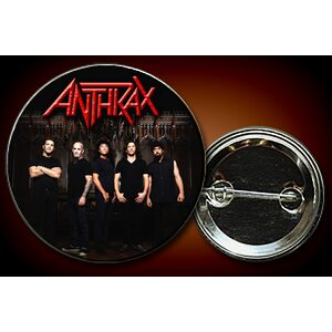 "ANTHRAX ""Band in castle"" /Pin/"