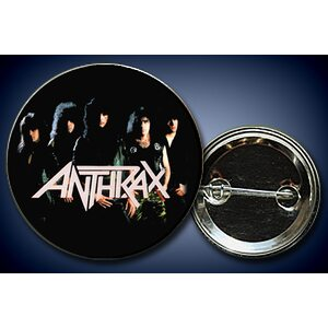 "ANTHRAX ""Old band on black"" /Pin/"