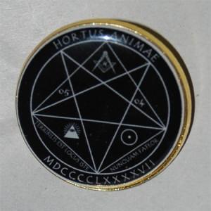 "HORTUS ANIMAE ""Pentagram MDCCCCLXXXXVII"" /Pin/"