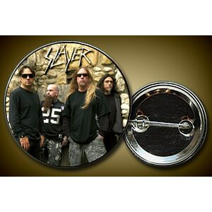 "SLAYER ""Band on stones"" /Pin/"