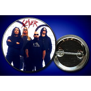 "SLAYER ""Band on white"" /Pin/"