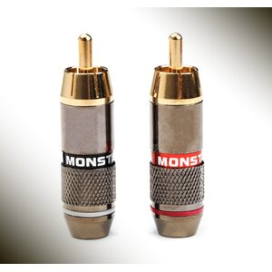 Monster Gold-Plated RCA /Plug/