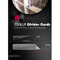 CD & LP Records Dividing Cards /Divider/