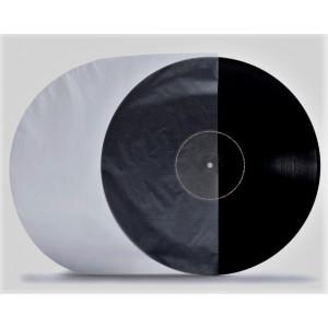"Rounded HDPE Antistatic 12"" Inner Lining Sleeve /Vinyl Sleeve/"