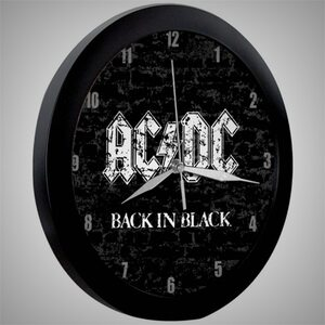 "AC/DC ""Back In Black"" /Wall Clock/"