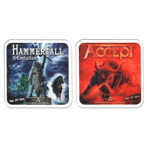 "ACCEPT ""Blind Rage"" / HAMMERFALL ""(r)Evolution"" /Beer Stand/"