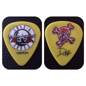 GUNS N´ ROSES Collector Series Yellow Pick /Pick/
