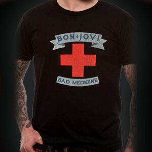 "BON JOVI ""Bad Medicine Cross"" /TS/"