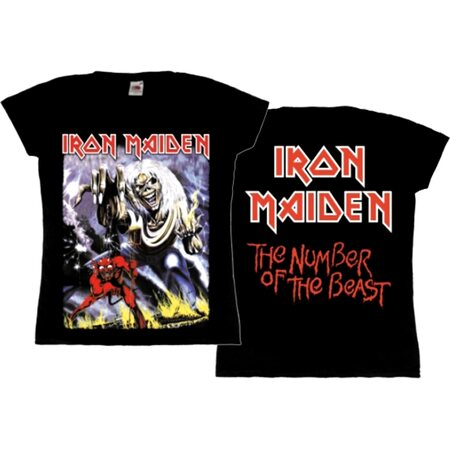 """IRON MAIDEN """"The Number Of The Beast"""" /TS/"""
