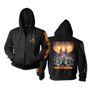 "EXODUS ""Blood In Blood Out"" /Zip Hoodie/"
